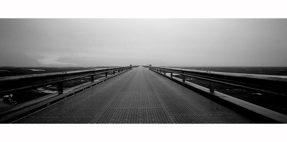 photographie noir et blanc en Islande