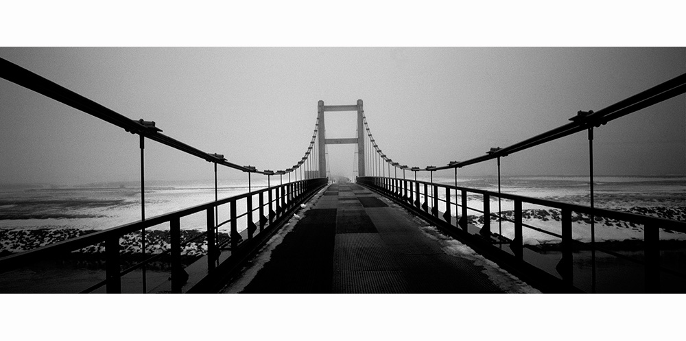 Pont d'islande en hiver