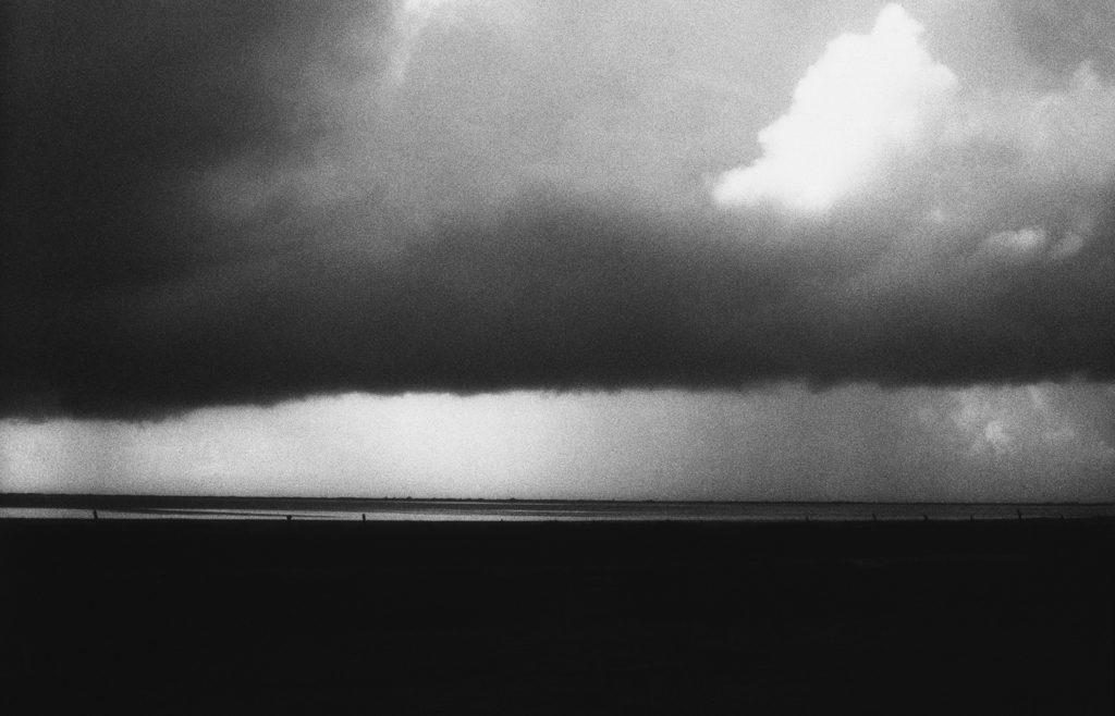photographie argentique noir et blanc de paysage au venezuela