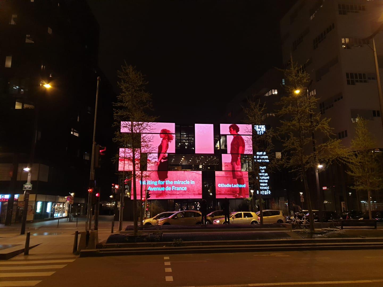 installation video urbaine