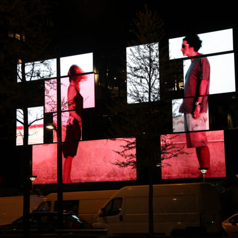 installation installation video urbaine