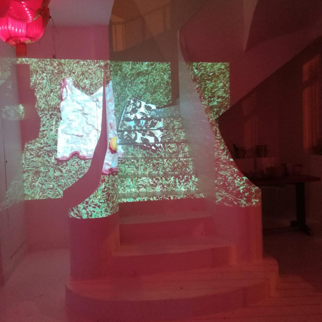 performance artistique Elodie Lachaud