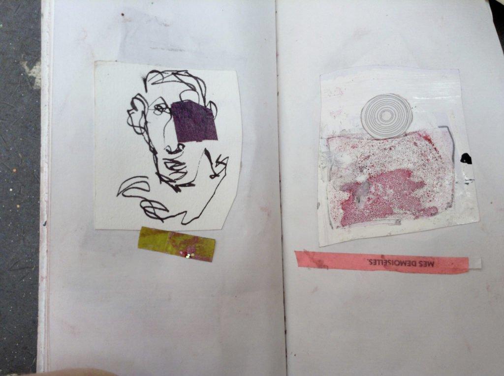 carnet d'artiste art contemporain